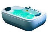 Акриловая гидромассажная ванна Appollo А-0535 белый 1820х1110х690